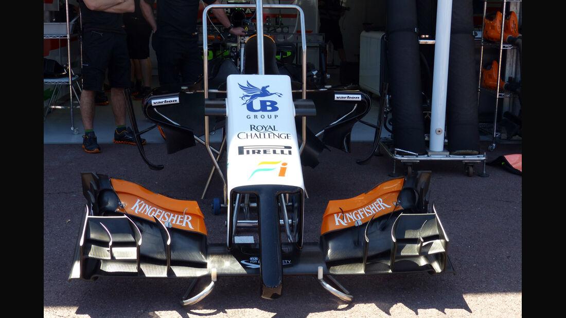 Force India - Formel 1 - GP Monaco - 23. Mai 2014