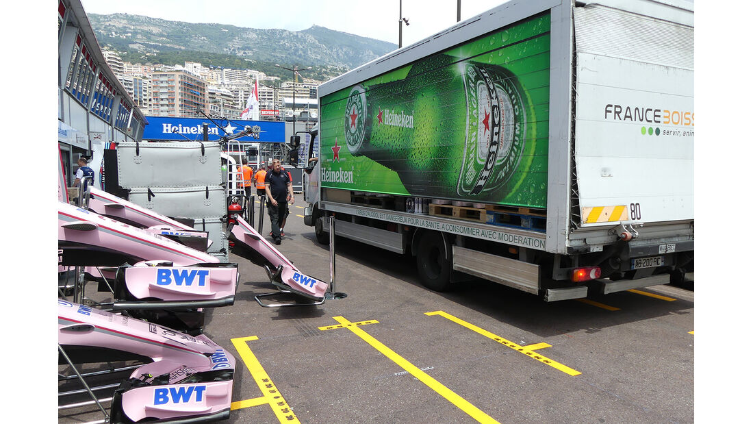 Force India - Formel 1 - GP Monaco - 23. Mai 2017