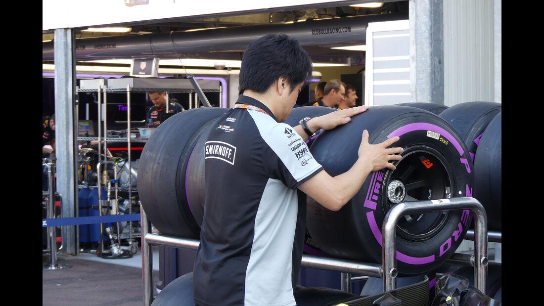 Force India - Formel 1 - GP Monaco - 25. Mai 2016