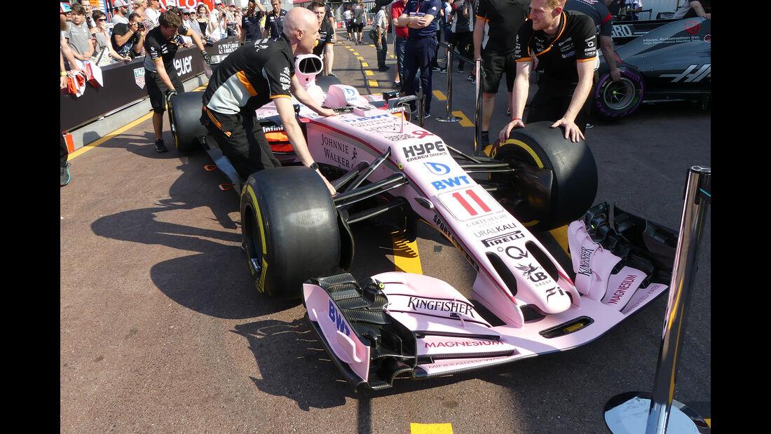 Force India - Formel 1 - GP Monaco - 26. Mai 2017