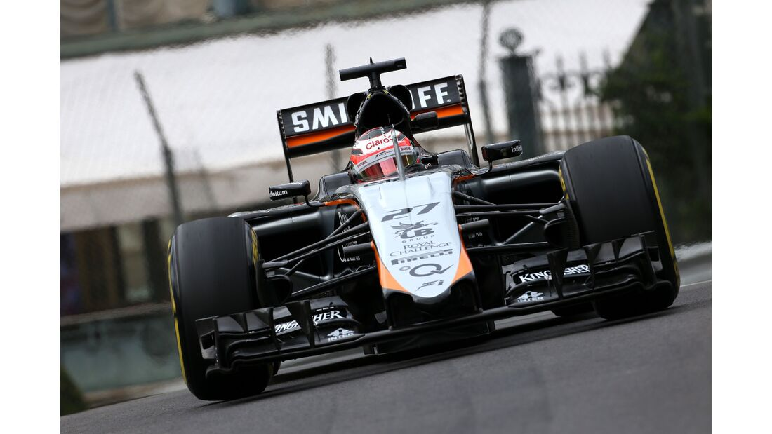 Force India  - Formel 1 - GP Monaco - Donnerstag - 21. Mai 2015