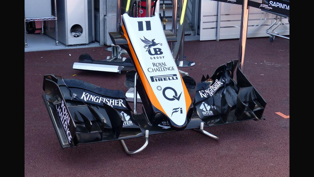Force India - Formel 1 - GP Monaco - Freitag - 22. Mai 2015