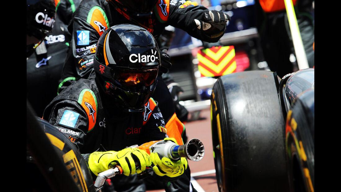 Force India  - Formel 1 - GP Monaco - Sonntag - 24. Mai 2015