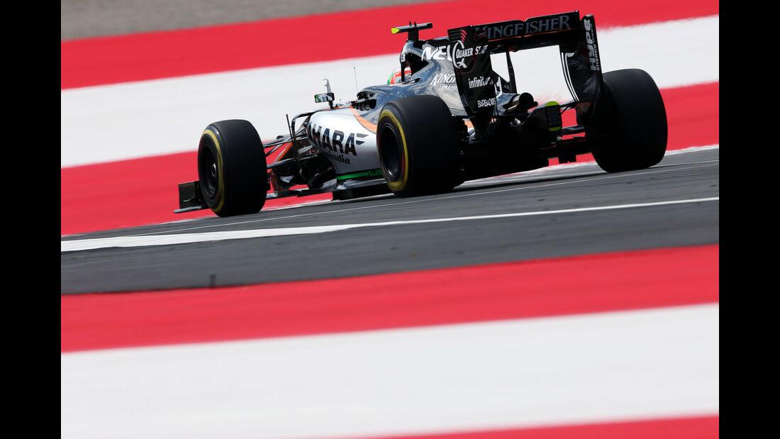 Force India - Formel 1 - GP Österreich - 1. Juli 2016