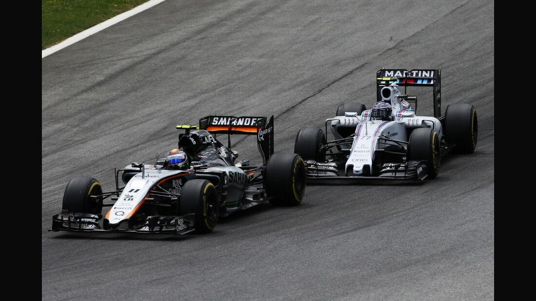 Force India - Formel 1 -  GP Österreich 2015