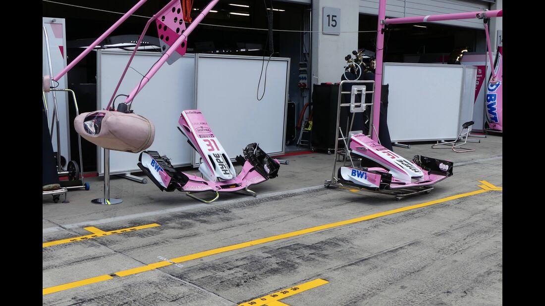 Force India - Formel 1 - GP Österreich - 27. Juni 2018
