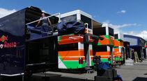 Force India - Formel 1 - GP Österreich - 29. Juni 2016