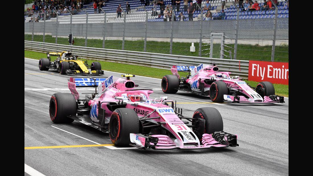 Force India - Formel 1 - GP Österreich - 29. Juni 2018