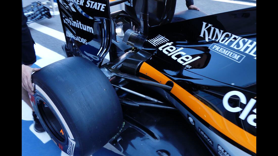 Force India - Formel 1 - GP Russland - 28. April 2016