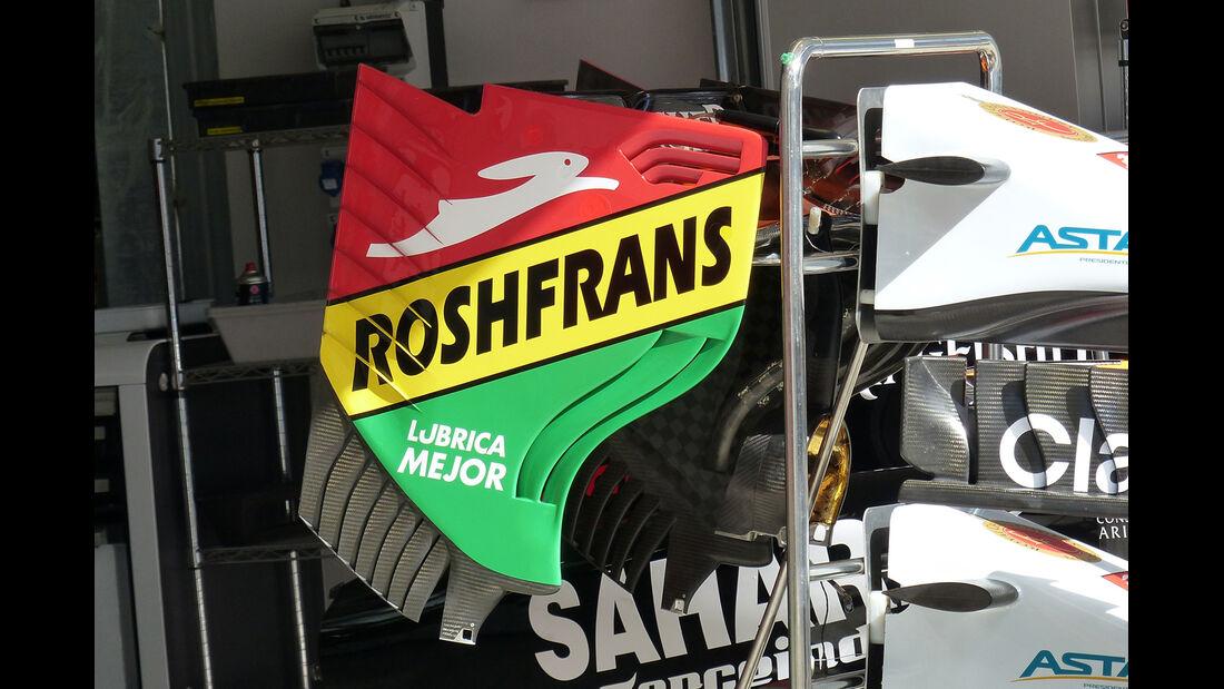 Force India - Formel 1 - GP Russland - Sochi - 9. Oktober 2014