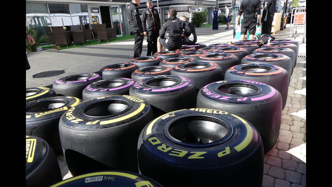Force India - Formel 1 - GP Russland - Sotschi - 26. April 2017