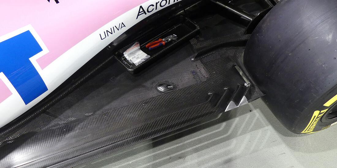Force India - Formel 1 - GP Singapur - 13. September 2018