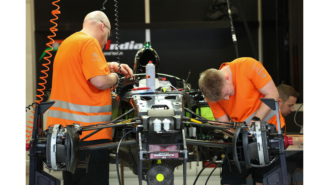 Force India - Formel 1 - GP Singapur - 14. September 2016