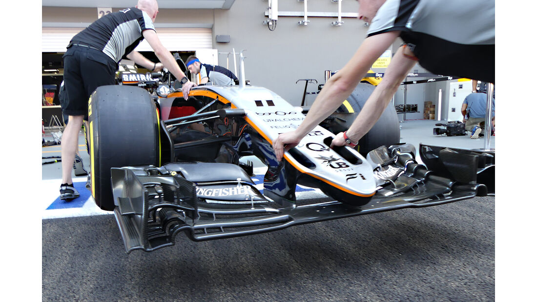 Force India - Formel 1 - GP Singapur - 15. Septemberg 2016