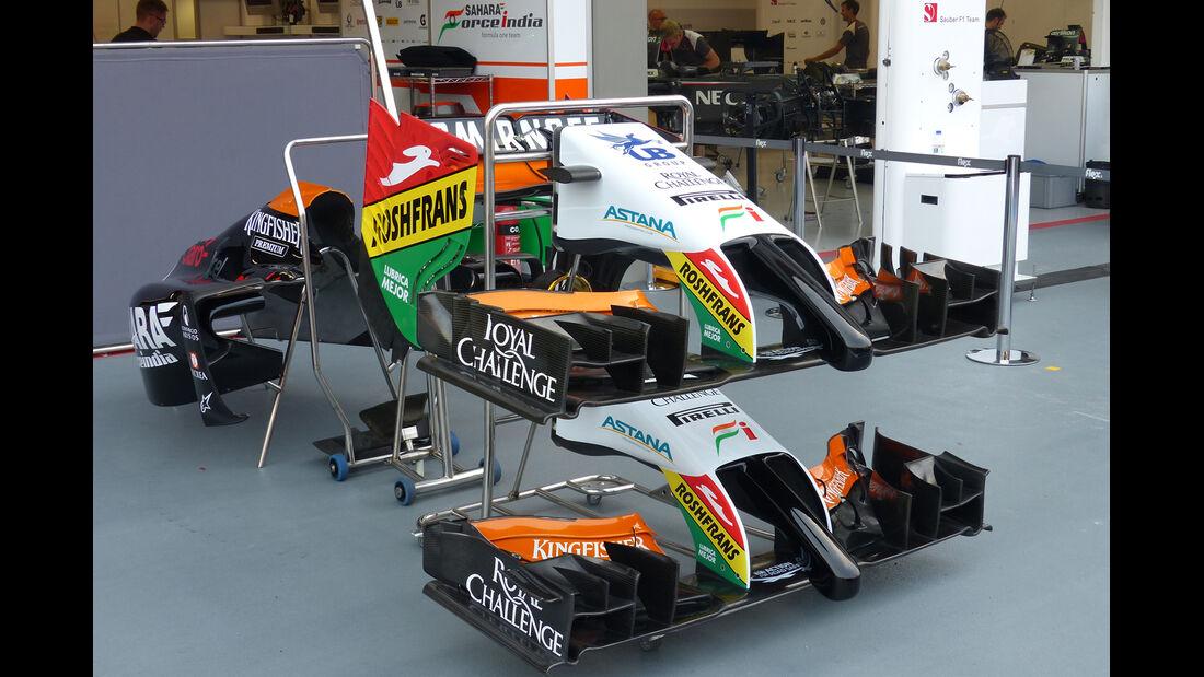 Force India - Formel 1 - GP Singapur - 17. September 2014