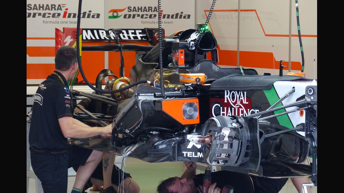 Force India - Formel 1 - GP Singapur - 18. September 2014
