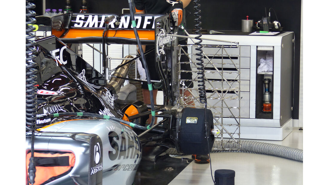 Force India - Formel 1 - GP Singapur - 18. September 2015