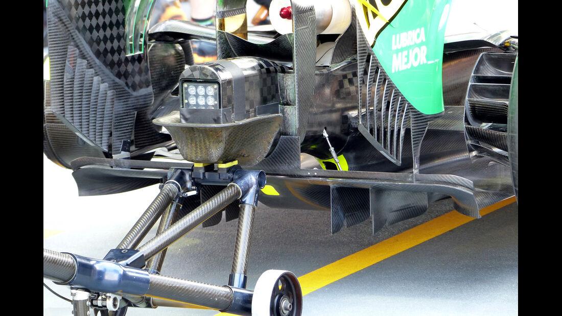 Force India - Formel 1 - GP Singapur - 19. September 2014