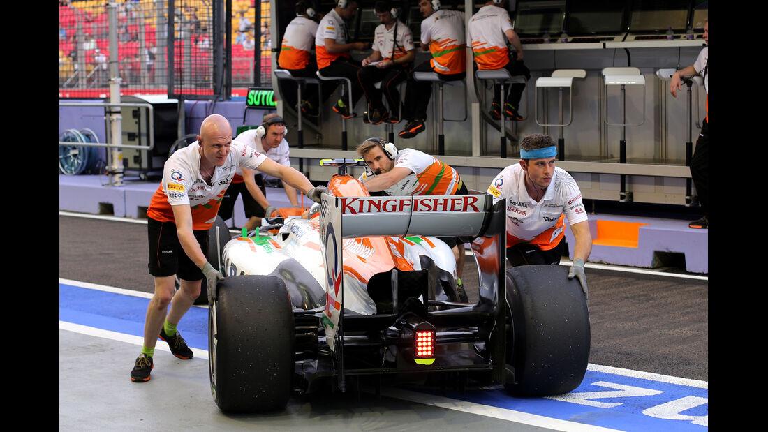 Force India - Formel 1 - GP Singapur - 20. September 2013