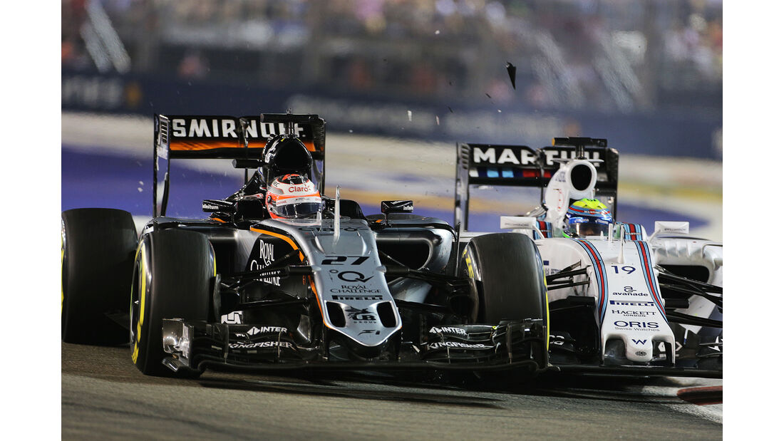 Force India - Formel 1 - GP Singapur 2015