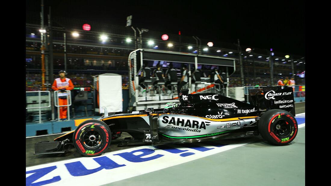 Force India - Formel 1 - GP Singapur - 2016
