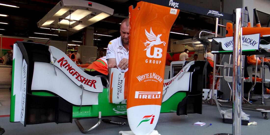 Force India - Formel 1 - GP Singapur - 22. September 2012
