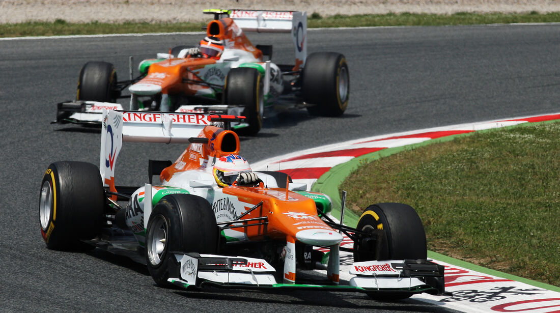 Force India Formel 1 GP Spanien 2012