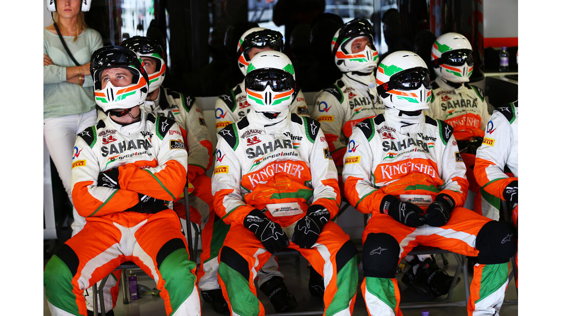 Force India - Formel 1 - GP Spanien 2013