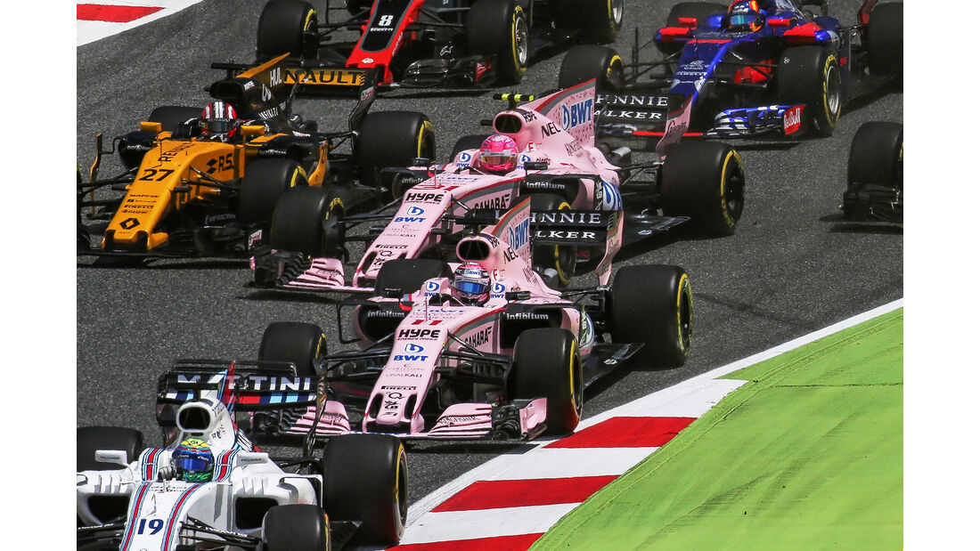 Force India - Formel 1 - GP Spanien 2017