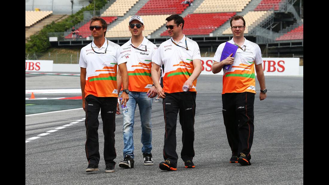 Force India - Formel 1 - GP Spanien - 9. Mai 2013