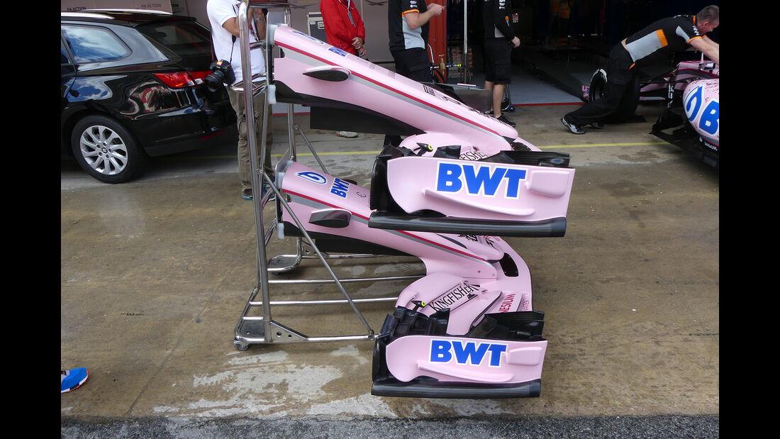 Force India  - Formel 1 - GP Spanien - Barcelona - 11. Mai 2017