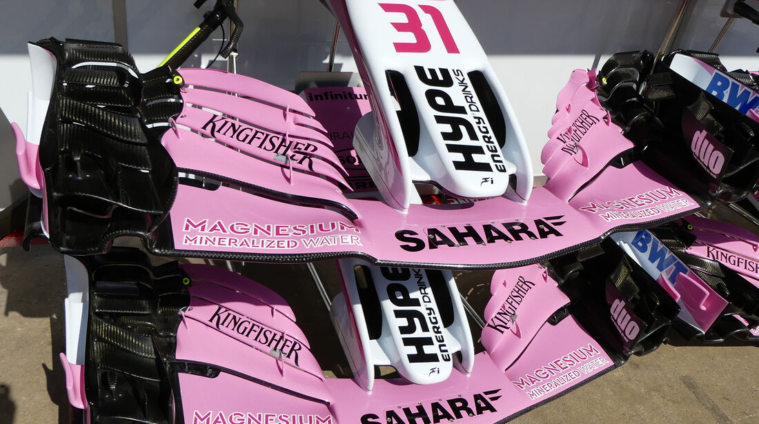 Force India - Formel 1 - GP Spanien - Barcelona - 11. Mai 2018
