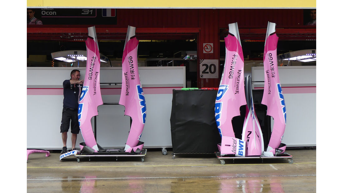 Force India - Formel 1 - GP Spanien - Barcelona - 9. Mai 2018