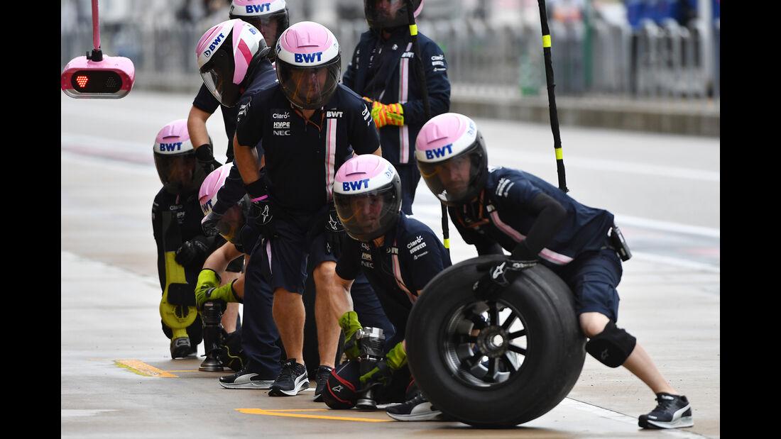 Force India - Formel 1 - GP USA - 19. Oktober 2018