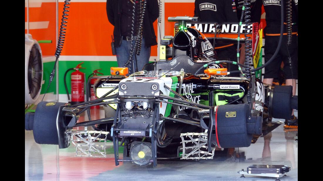 Force India - Formel 1 - GP USA - 31. Oktober 2014