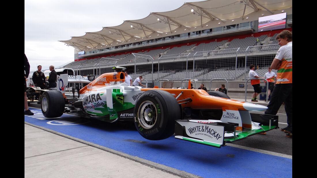 Force India - Formel 1 - GP USA - Austin - 15. November 2012