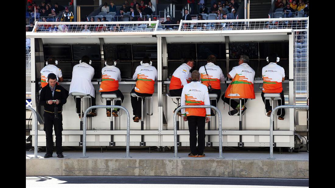 Force India - Formel 1 - GP USA - Austin - 17. November 2012