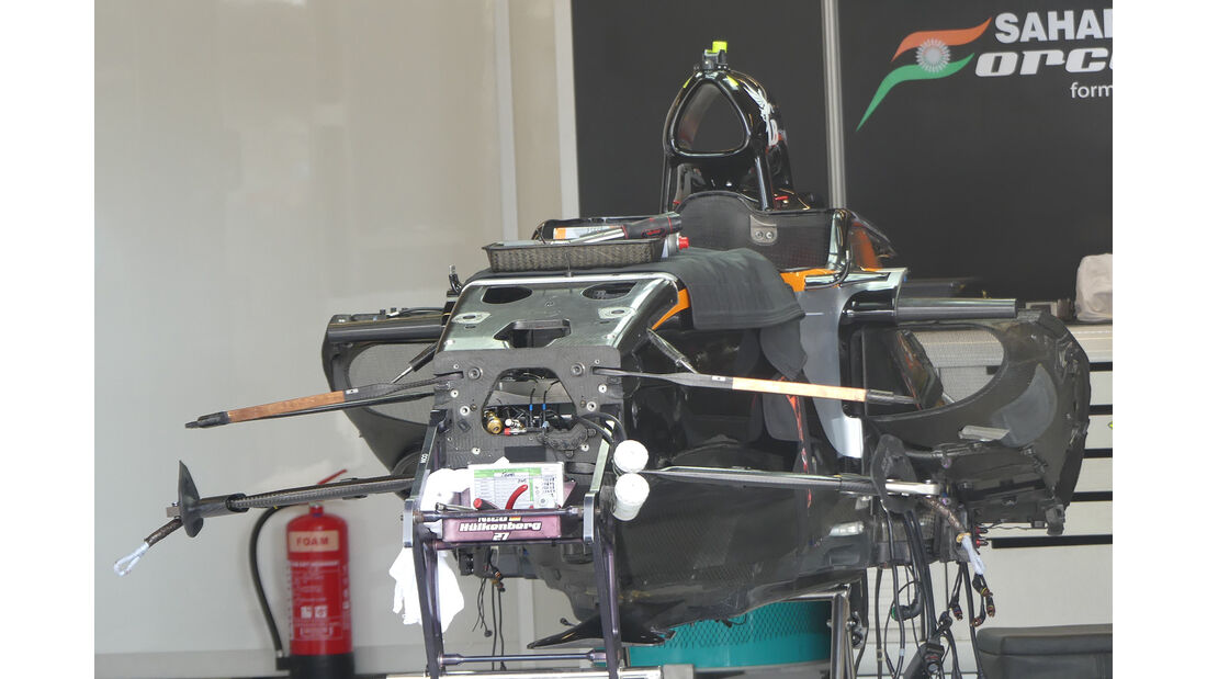 Force India - Formel 1 - GP USA - Austin - 19. Oktober 2016