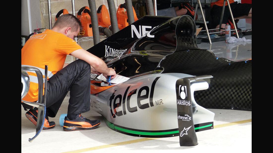 Force India - Formel 1 - GP USA - Austin - 21. Oktober 2015
