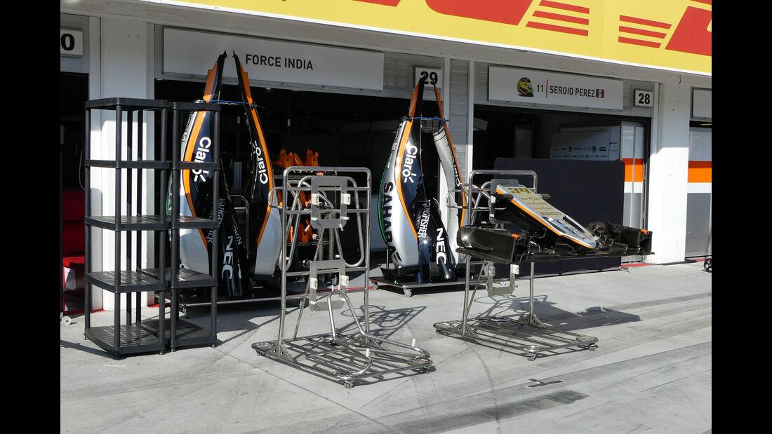 Force India  - Formel 1 - GP Ungarn - 20. Juli 2016
