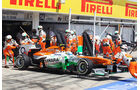 Force India - Formel 1 - GP Ungarn 2013