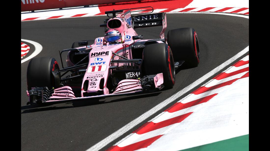 Force India - Formel 1 - GP Ungarn 2017