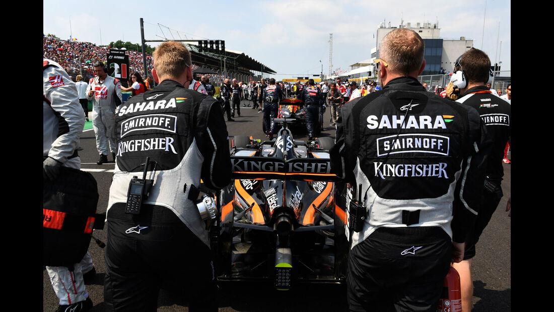 Force India - Formel 1 - GP Ungarn - 24. Juli 2016