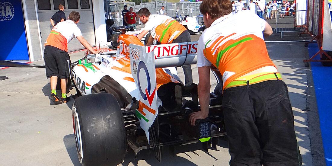 Force India - Formel 1 - GP Ungarn - 25. Juli 2012