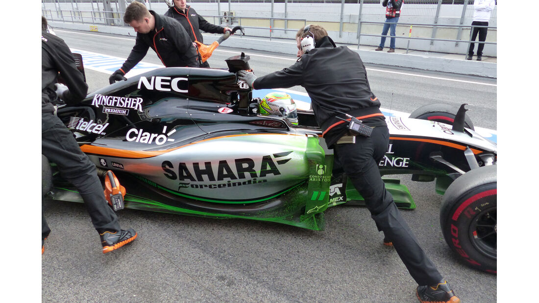 Force India - Formel 1-Technik - Barcelona-Test 2 - F1 2015