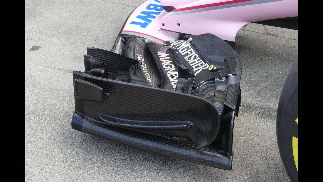 Force India - Formel 1 - Technik - GP Australien 2017