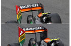 Force India - Formel 1 - Technik - GP Italien 2014