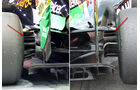 Force India - Formel 1 - Technik - GP Singapur 2014