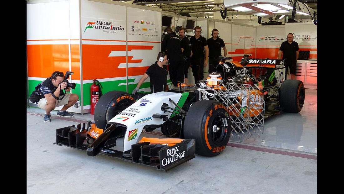 Force India - Formel 1 Test - Bahrain - 2014