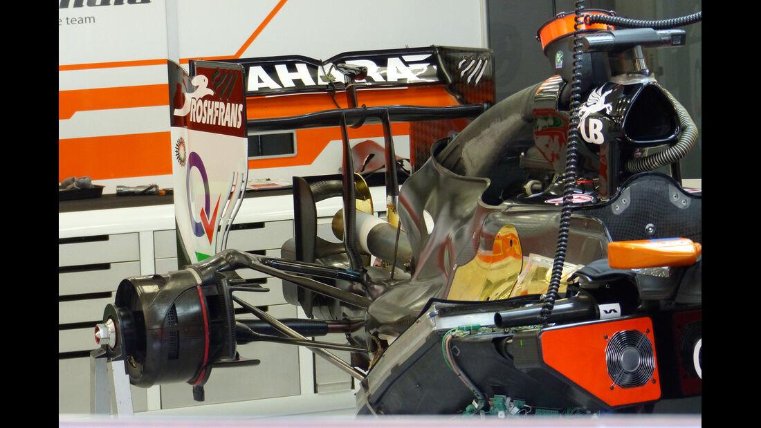 Force India - Formel 1 - Test - Bahrain - 21. Februar 2014